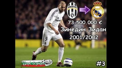 Най-скъпите трансфери в историята на футбола