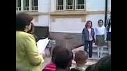 Първият учебен ден в Оу Христо Ботев с.алеково 15.09.2009г