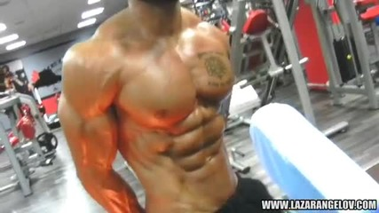 Lazar Angelov Chest Workout Video 2013(1)