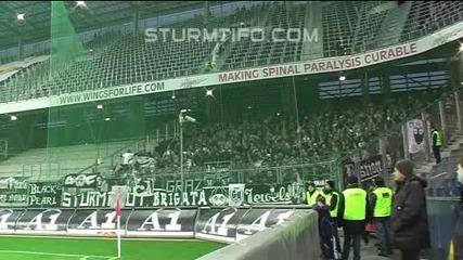 12.12.10 Ultras Sturm away in Salzburg