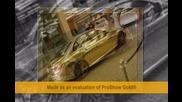 Mercedes - Benz C63 Amg С Огледално Златно Покритие