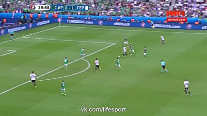 21.06.16 Северна Ирландия - Германия 0:1 * Евро 2016 *