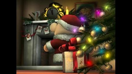 Meчето Теди - Дядо Коледа и комина
