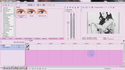 Sony Vegas tutorials #26 как се записва Hd под 100 mb