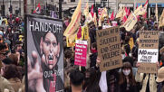UK: Protesters stage 'Kill the Bill' demo at May Day rally in London