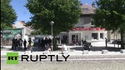 France: Anti-immigrant protesters gather in Calais despite ban