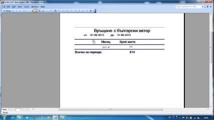 Библиотечен софтуер. Статистика