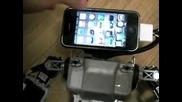 - Робот с глава на iphone !