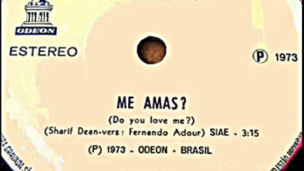 Trio Esperança --me Amas? (do You Love Me?) 1973
