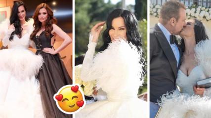 Пищната сватба на Цеци Красимирова: Кои бяха гостите, кой хвана букета, кой пя?