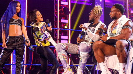 Bayley & Sasha Banks interrupt Tag Team Championship Summit: SmackDown, May 29, 2020