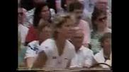Martina Navratilova vs Chris Evert. Wimbledon 1987