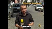Смях роми са концесионери на паркинг - улица в Пловдив Господари на Ефира *18.9.2009* *hq*