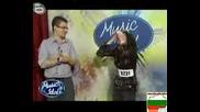 Music Idol 3 - Пълна Гавра С Участничка