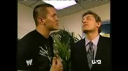 Randy Orton Backstage October 15, 2007