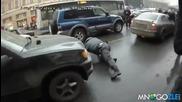 Протестант се гаври с руски полицай