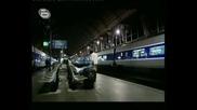 Top Gear Бг Аудио:Aston Martin срещу Влак(320 км/ч)