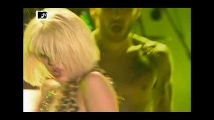 Lady Gaga - poker face - live - isle of Mtv