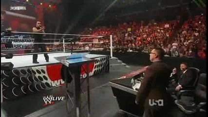 The Rock се завръща на Wwe Raw 2 14 2011 нецензурирана версия
