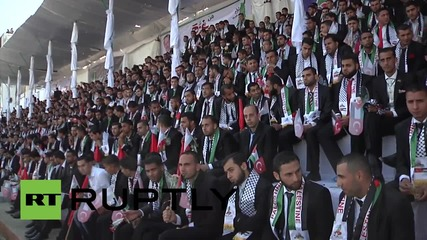 State of Palestine: TWO THOUSAND couples marry in Turkish-funded mass wedding