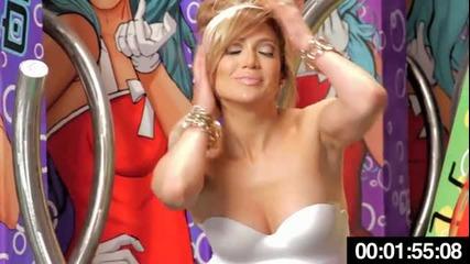 Jennifer Lopez feat. Flo Rida - Sweet spot [behind the Scenes]