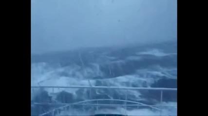Лице в лице с 30-метрова вълна