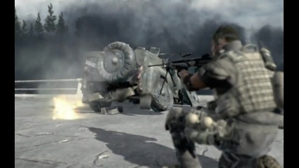 Call Of Duty 4: Moder Warfare Gameplay Mission : Game Over