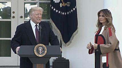 USA: Trumps warns pardoned Thanksgiving turkey off Democrats