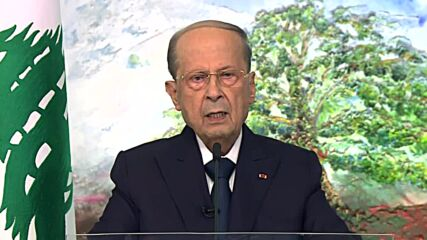 Lebanon: Pres Aoun calls for resumption of indirect talks on marine border dispute with Israel