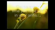 Caillat - Bubbly (lyrics)