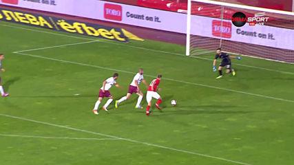ЦСКА продължава с головете - 5:0