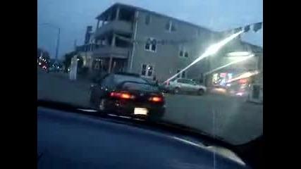 Mitsubishi Eclipse & Acura Integra на Магистралата