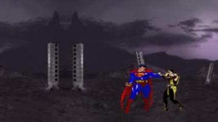 Mk vs Dc Flash Animation