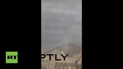 Yemen: Huge explosion rocks Sanaa as Saudi-led coalition bombing continues
