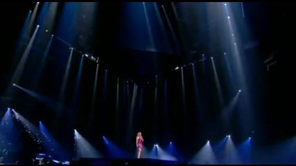 |превод| Celine Dion - Et Sil Nen Restait Quune на живо