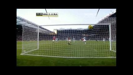 Манчестър Юнайтед - Блекбърн 2 - 0 гол на Парк джи Сунг