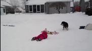 Ето за какво служи снегът