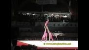 Акробатика - Женска Тройка Русия