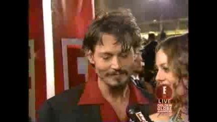 Johnny Depp And Vanessa