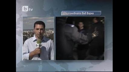 протеста във Варна