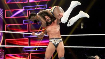 Седрик Алекзандър срещу Тони Нийз: WWE 12.12.2018