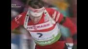 Нова победа на Бьо, Анев 29-и в масовия старт в Оберхоф