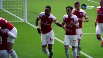 Топ 5 на попаденията на Обамеянг с екипа на Арсенал