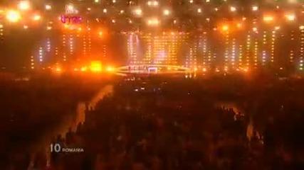! ! Румъния с най - добрата песен Евровизия Paula Seling & Ovi - Playing with fire