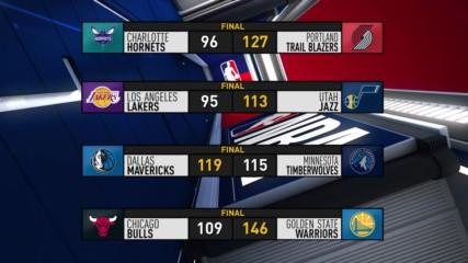 Най-интересното от изминалата нощ в НБА