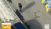 """От """"Моята новина"""": Как се асфалтират дупки с… крака?"""