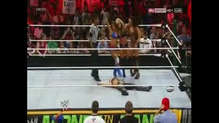 Beth Phoenix , Natalya & Eve Torres vs Layla , alicia Fox & Kaitlyn - Money In the bank 2012