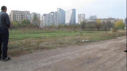 Първи полет с квадракоптер и катастрофа в София