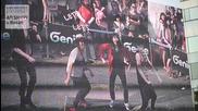 Genie with Exo-k - Ar Show in Pusan, Korea ( making film )