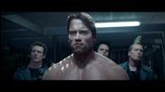 """Terminator"" Arnold Schwarzenegger Creates A Frenzy At Camp Pendleton"